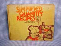 Simplified Quantity Recipes: Nursing/Convalescent Homes and Hospitals by  Muriel  Mabel;Urbashich - Hardcover - 1986 - from Gene The Book Peddler  and Biblio.co.uk