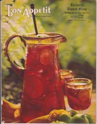Bon Appétit, July-August 1969, Volume 14, No. 4