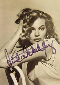 image of Photograph of Anita Ekberg. Signed
