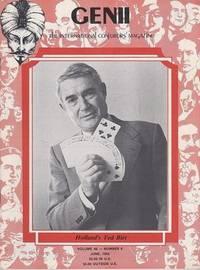 image of Genii: The International Conjurors Magazine: June 1982