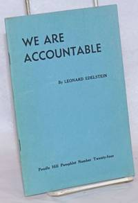 We Are Accountable: A View of Mental Institutions