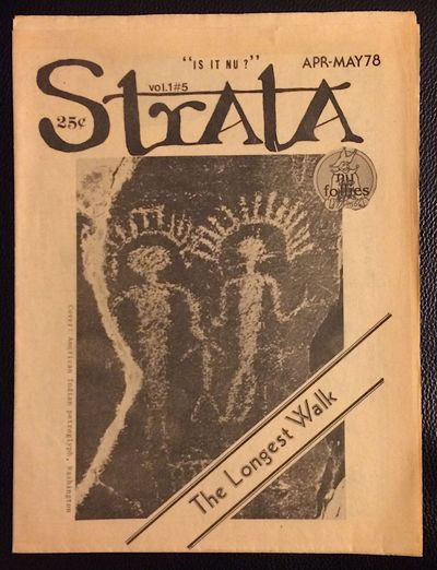 San Rafael, CA: Strata, 1978. 8p., tabloid format newspaper, pages toned, otherwise very good. Self-...