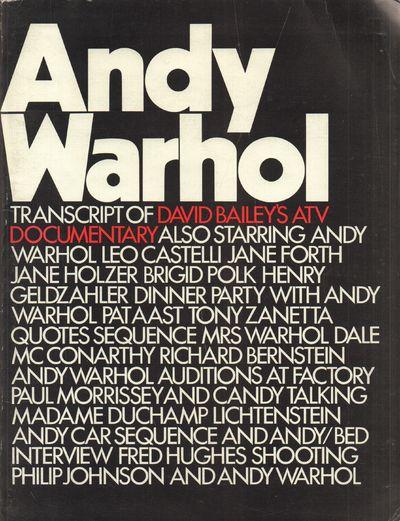 andy warhol transcript of david baileys atv documentary