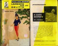 Lamento per un delitto [The Case of the Dead Divorcee] (Vintage Italian digest paperback)