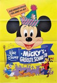 image of Mickey Mouse Jubilee Show [Micky's Grosste Schau '78] (Original German poster for the 1978 film)