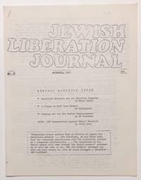 image of Jewish Liberation Journal. No. 12 (November, 1972)