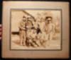 Large Format Photograph of United States WW II MacHine Gun Crew