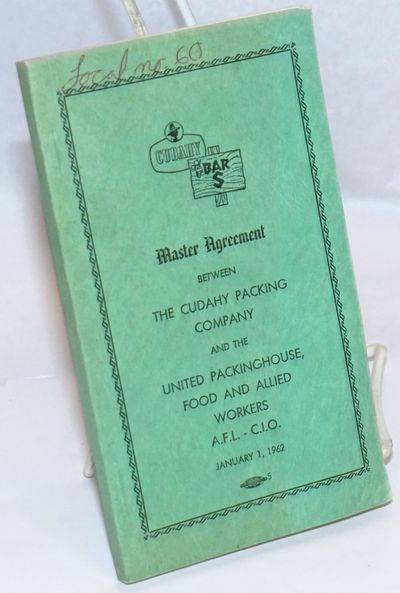 Omaha: United Packinghouse, Food and Allied Workers, 1962. Pamphlet. 180p., card covers,