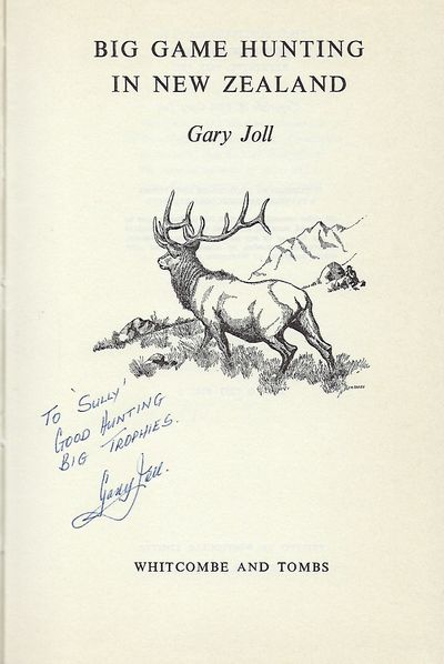 Christchurch, New Zealand: Whitcombe And Tombs, 1973. First Edition, third printing. Signed presenta...