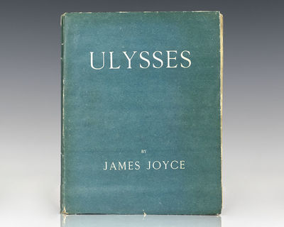 Paris: Shakespeare and Company, 1922. First edition of Joyce's masterpiece, one of 750 numbered copi...