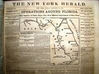image of NEW YORK HERALD: Bound volume of 120 issues from 1 January 1862 to 30 April 1862 with much war reportage