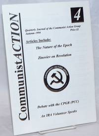 Communist Action: Quarterly Journal of the Communist Action Group.  Number 4, Autumn 1994