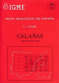Mapa Geologico de España. E. 1:50.000. Calañas