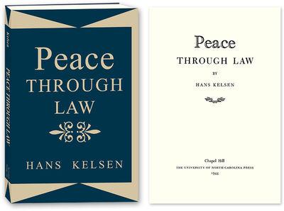 2008. ISBN-13: 9781584779209; ISBN-10: 1584779209. Kelsen's Formula for International Peace Kelsen, ...