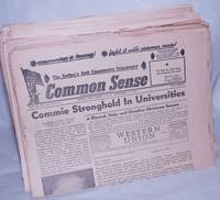image of Common Sense, the anticommunist paper [78 different issues]