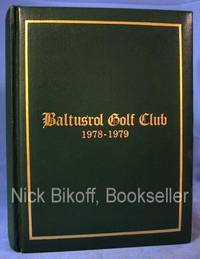 image of BALTUSROL GOLF CLUB CONSTITUTION AND BY-LAWS Revised October 16, 1976