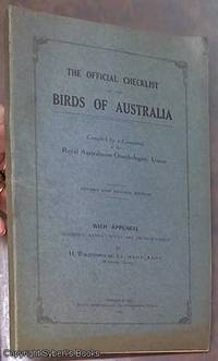 image of The Official Checklist of the Birds of Australia: with Appendix