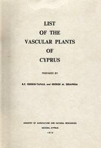 List of the Vascular plants of Cyprus