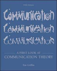 A First Look at Communication Theory with Conversations with Communication Theorists CD ROM 20