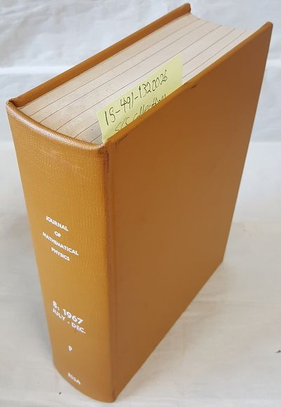New York: American Institute of Physics, 1967. Hardcover. Quarto; G+ Hardcover; Yellow spine with Wh...