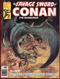 The Savage Sword of Conan the Barbarian # 21 Horror from the Red Tower