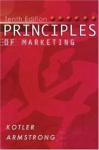 image of Principles of Marketing (with FREE Marketing Updates access code card) (10th Edition)