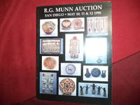 R.G. Munn Auction. May 10, 11 & 12, 1996