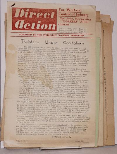 London: Syndicalist Workers Federation; International Workingmen's Association, 1961. Fifteen issues...