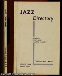 The Directory of Recorded Jazz and Swing Music, Volume Three