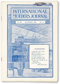International Molders Journal. Vol. 69 no.11  (November, 1933)