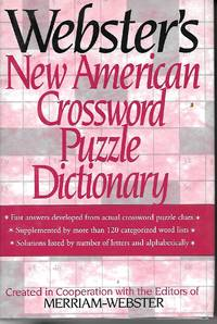 image of Webster's New American Crossword Puzzle Dictionary