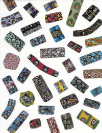 Millefiori Beads from the West African Trade
