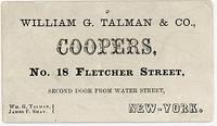 William G. Talman & Co. - Coopers
