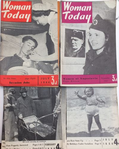 London: Tamara Rust, 1950. Fifteen issues of the digest-sized publication affiliated with the Commun...