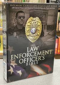 HCSB Law Enforcement Officer's Bible, Black LeatherTouch