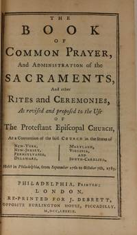 Book of Common Prayer, and Administration of the Sacraments, and
