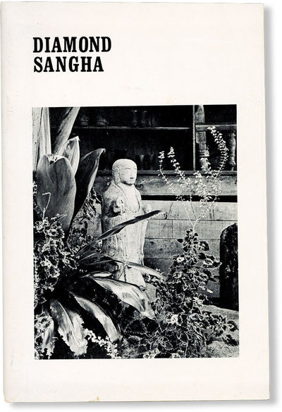 . First Edition. Paperback. Octavo; publisher's white photo-illustrated staplebound card wrappers; 4...