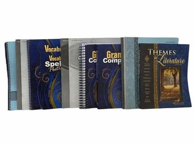 Pensacola: Abeka, 2015. Fourth Edition. Soft Cover. Near Fine. Fourth edition. Includes fourteen vol...