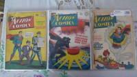 Action Comics 100, 101, 102 (September, October, November 1946)