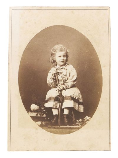 London: Robert Faulkner, Portrait Painter & Photographer, (n. d.). Ca 1870s. Now housed in an archiv...