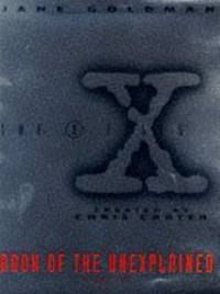 X Files Book of the Unexplained Volume 2 Vol 2