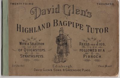Edinburgh: David Glen and Sons, 1900. Later printing. Wraps. Very good. 34p. in illustrated wraps. Q...