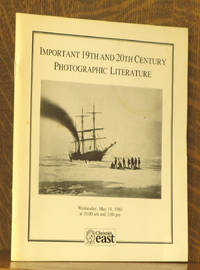 IMPORTANT 19TH AND 20TH CENTURY PHOTOGRAPHIC LITERATURE - MAY 14, 1980, Christie's East NY