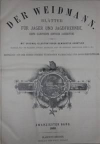 Blasewitz-Dresden: Verlag Von Paul Wolff, 1889. First Edition. Half Calf. Very Good. Elephant Folio....