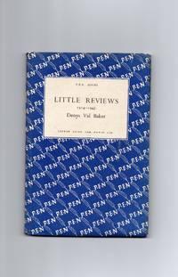 Little Reviews 1914-1943