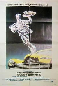 The Apprenticeship of Duddy Kravitz - Original Folded One Sheet Movie Poster(1974)