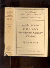 ENGLISH LITERATURE IN THE EARLIER SEVENTEENTH CENTURY 1600-1660