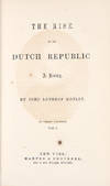 View Image 1 of 2 for The Rise of the Dutch Republic: A History Inventory #38854