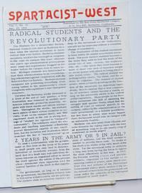 Spartacist-West. Vol. 1, no. 10, Dec. 29, 1966