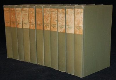 Boston: Dana Estes, 1906. Hard Cover. near Very Good binding. This set of the Illustrated Cabinet Ed...